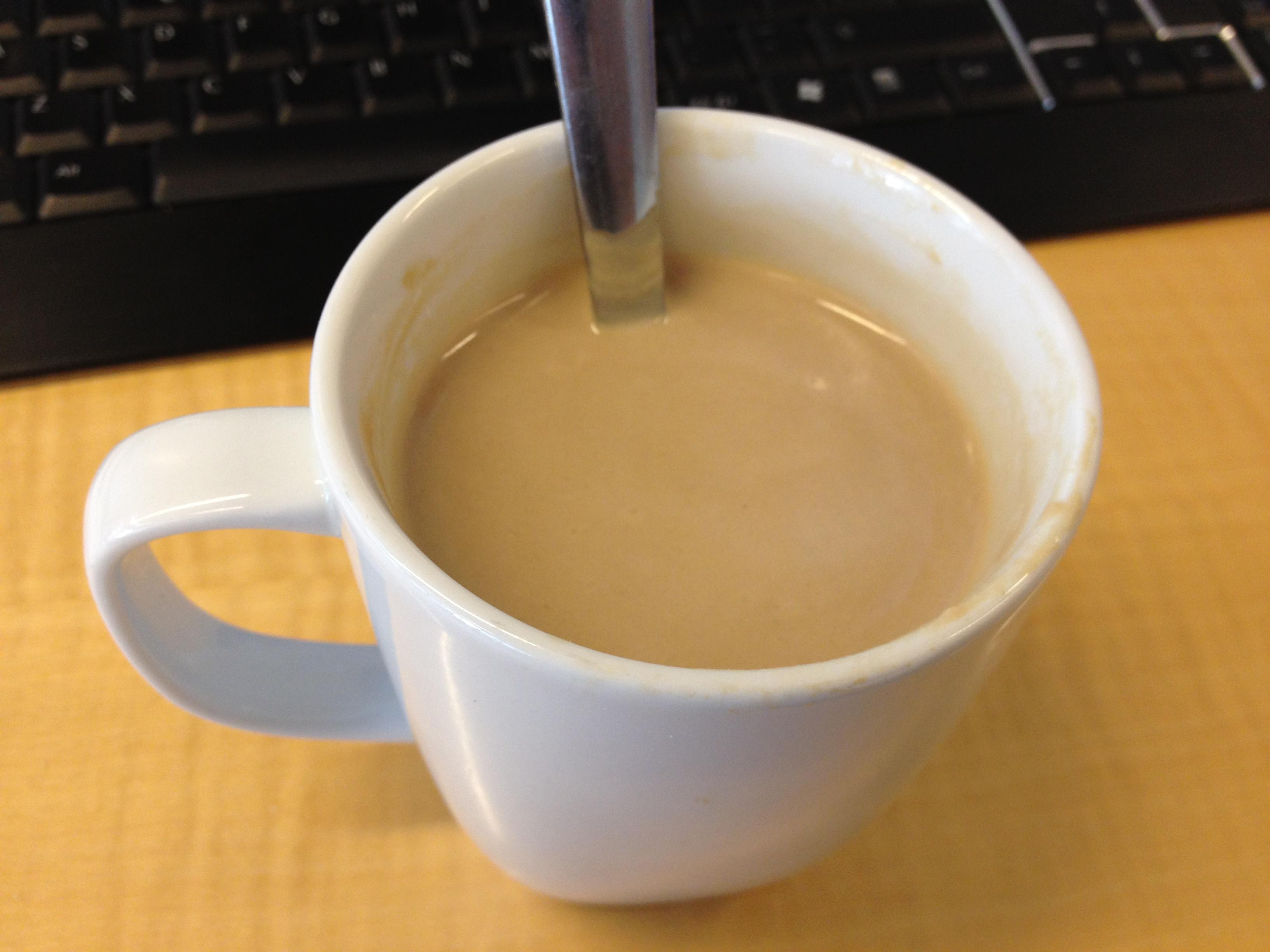 proteinpulver kaffe latte
