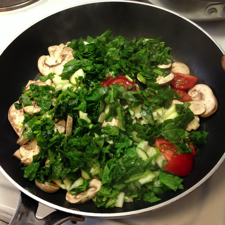 grøntsager morgenmad
