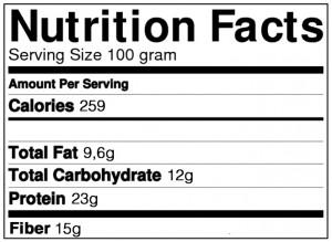 low carb lakridskugler ernæringsindhold