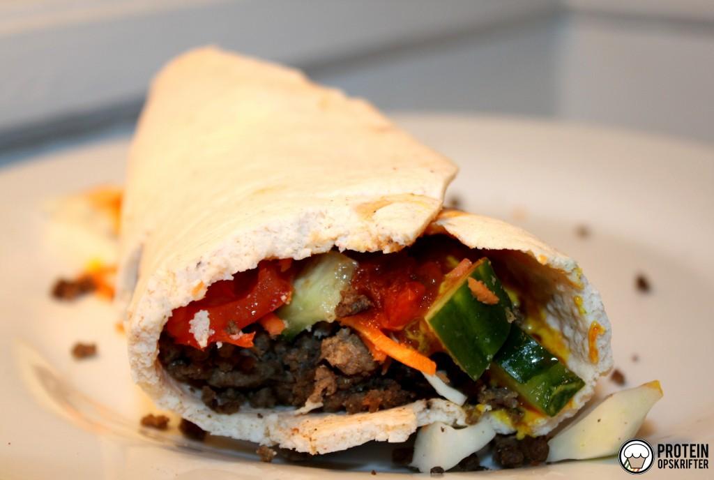 opskrift på low carb tortilla wraps billede