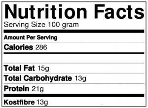 White chocolate chunk raspberry proteinbar næring
