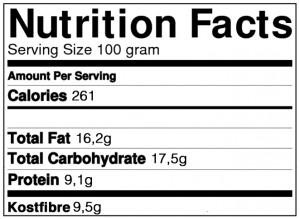 protein oreo næringsindhold