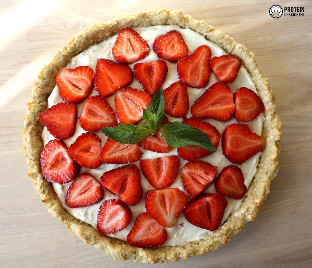 sund jordbærtærte